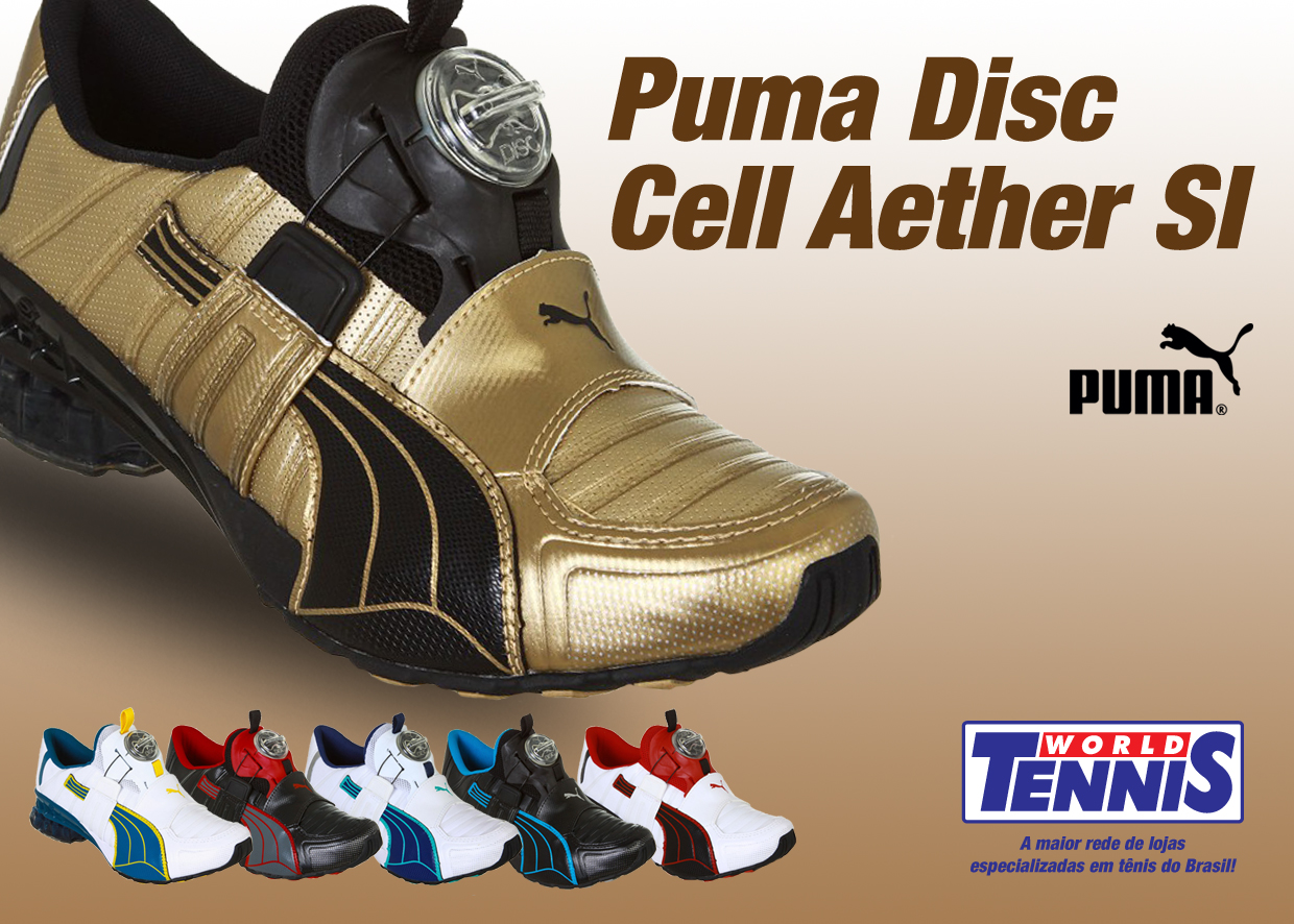 14ba12ba16 Novas cores do Puma Disc Cell Aether Sl - World Tennis - Tênis