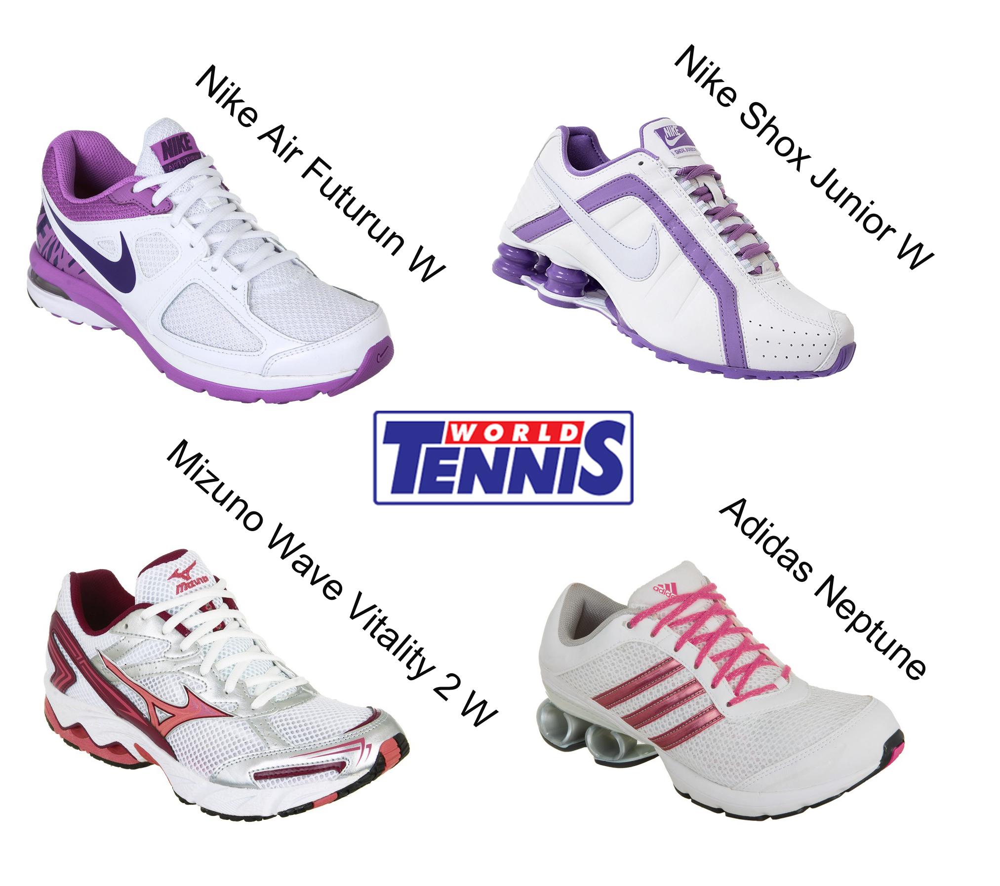 d06dc5690a Deu branco no tênis feminino - World Tennis - Tênis