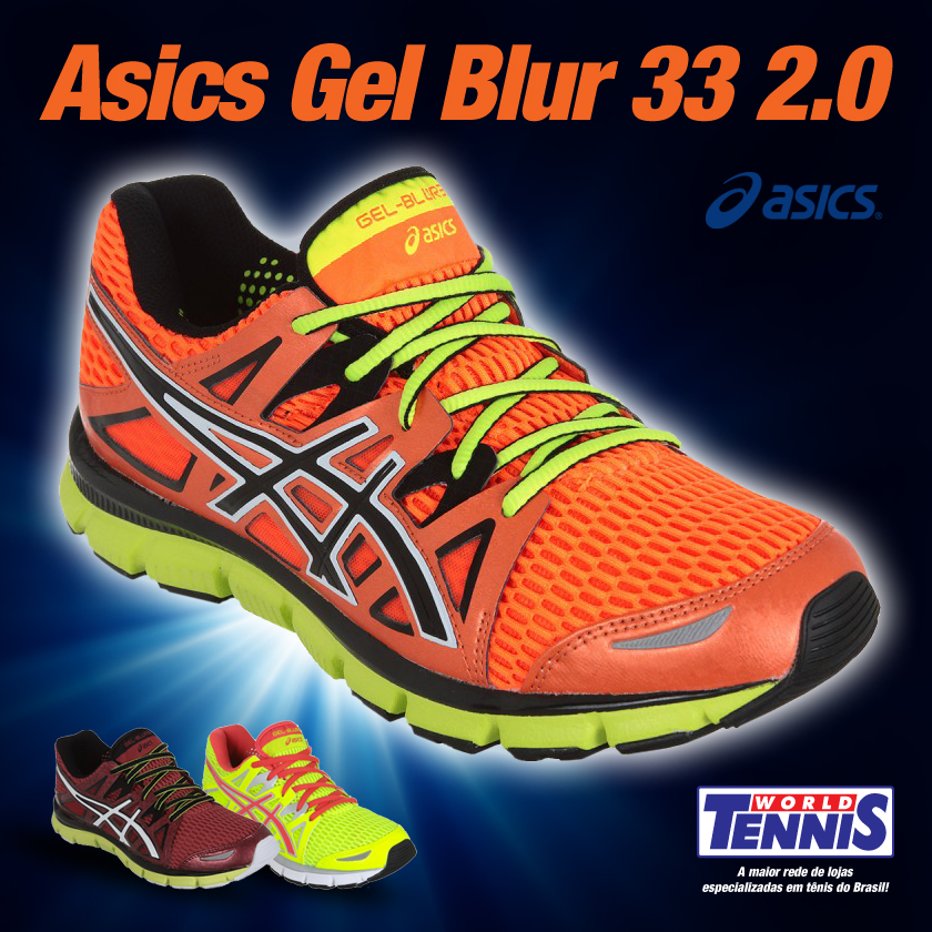 Gel-Blur 33 ainda melhor - World Tennis - Tênis cb06400136371