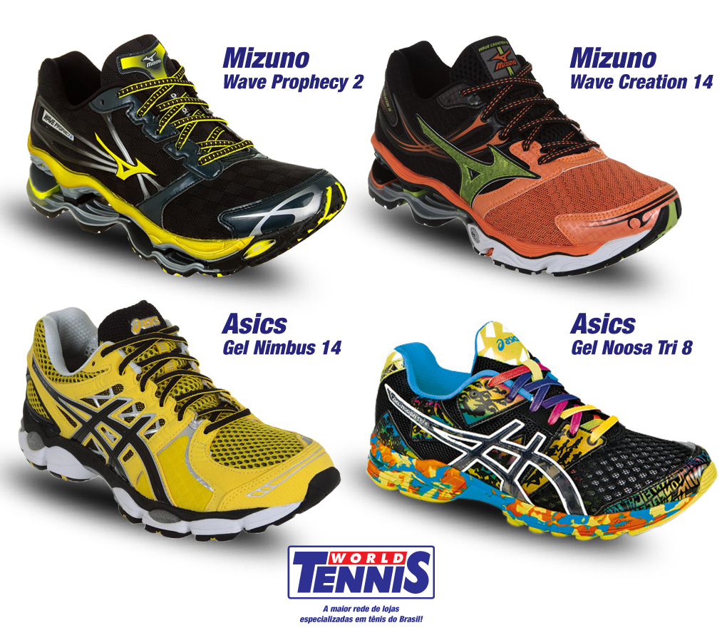 aedb56a5792 Tênis para a Maratona - World Tennis - Tênis