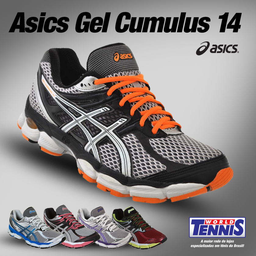 624460fc972 Asics Gel Cumulus 14 - World Tennis - Tênis