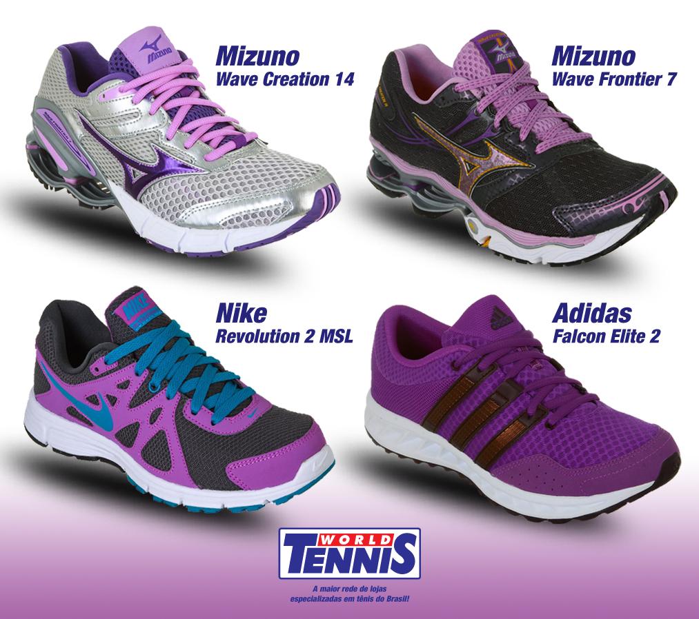 3f44e92f0b3 Tenis feminino cheio de estilo - World Tennis - Tênis