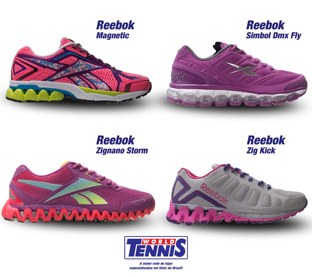 Novidades Reebok – tênis feminino - World Tennis - Tênis e5756a0769f5f