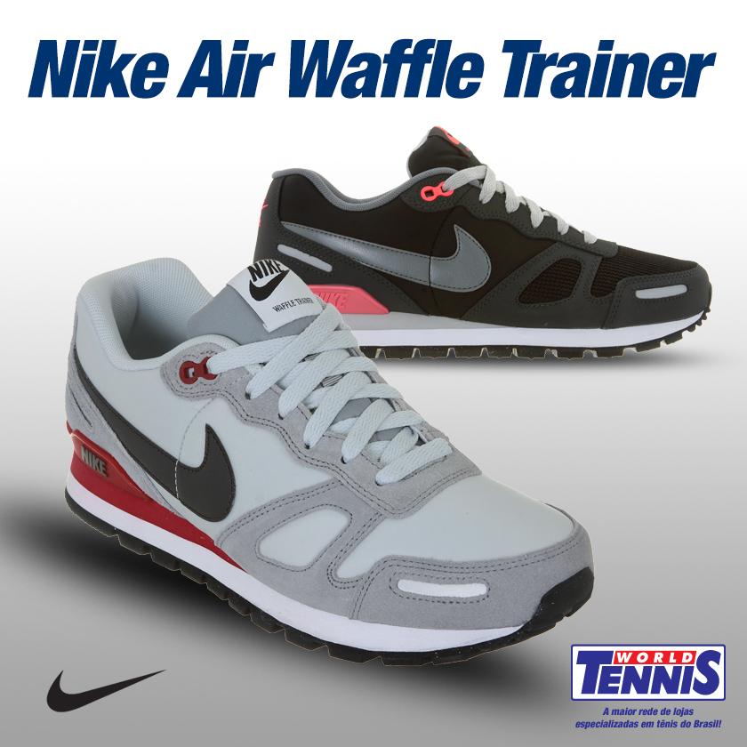 ab754a4b4dc79 Tecnologia Waffle dos tênis Nike - World Tennis - Tênis