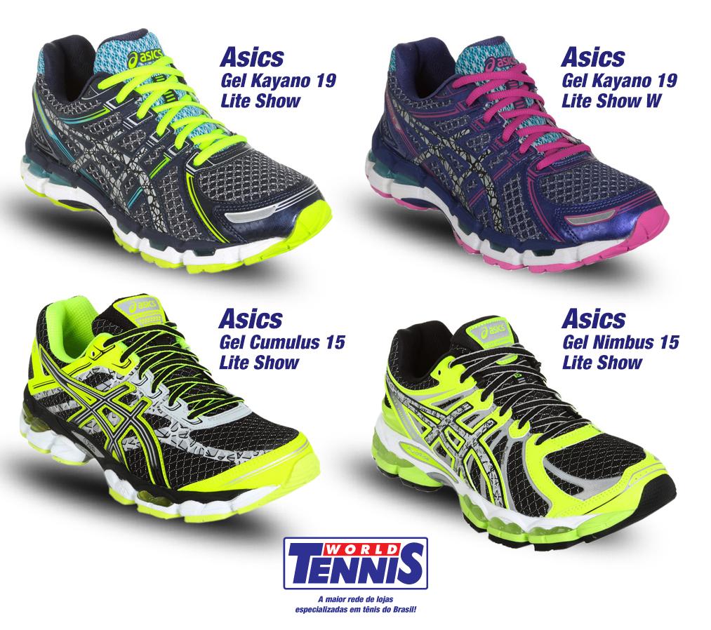 118ed8afb8b Asics Lite Show - World Tennis - Tênis