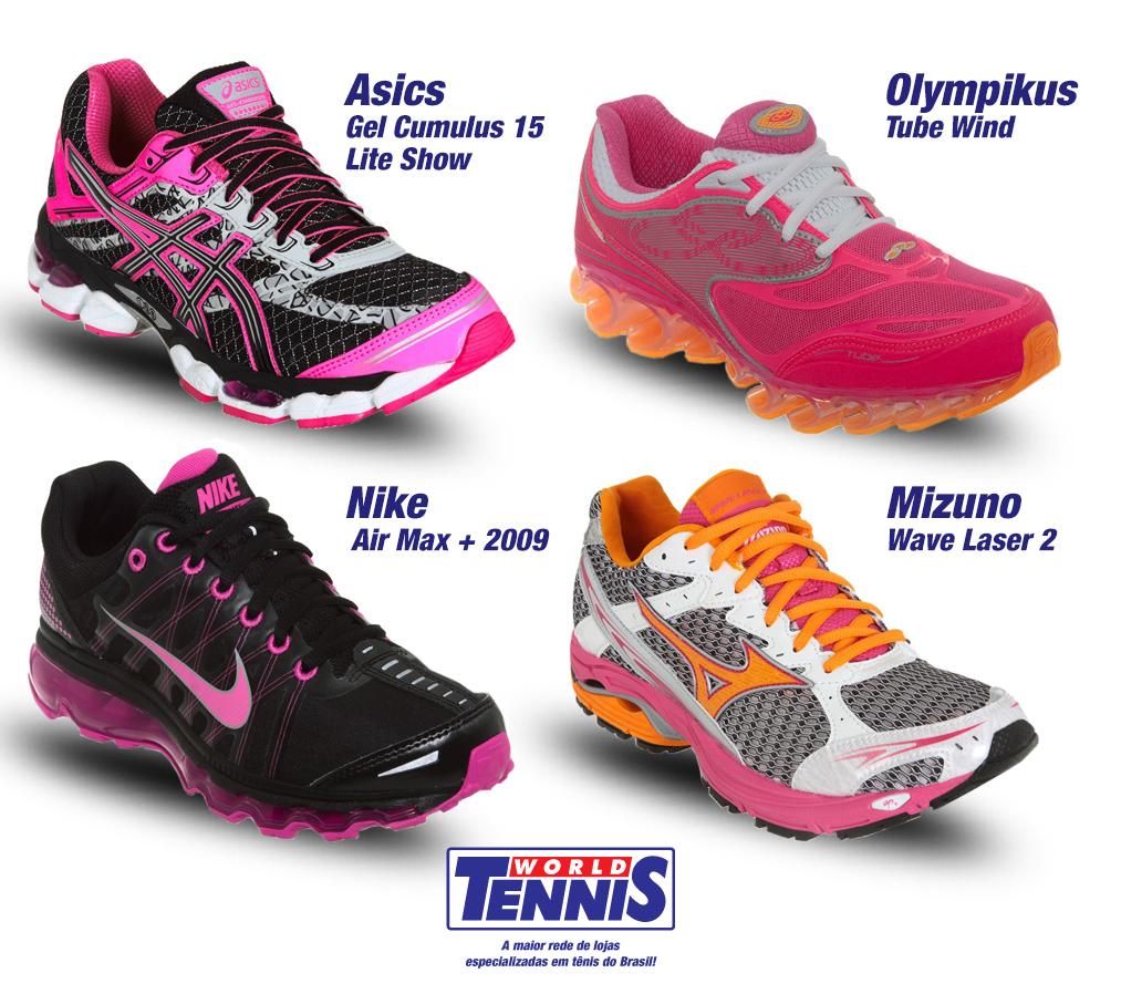1840b5d9f40 Novidades para academia – Tênis feminino - World Tennis - Tênis