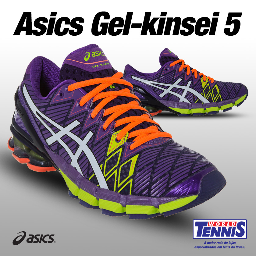 5e4713dbb6953 Novidade: Asics Gel Kinsei 5 - World Tennis - Tênis
