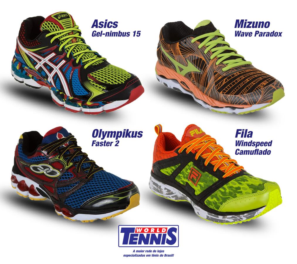 9375bbf7dbf Tênis Multicoloridos - World Tennis - Tênis