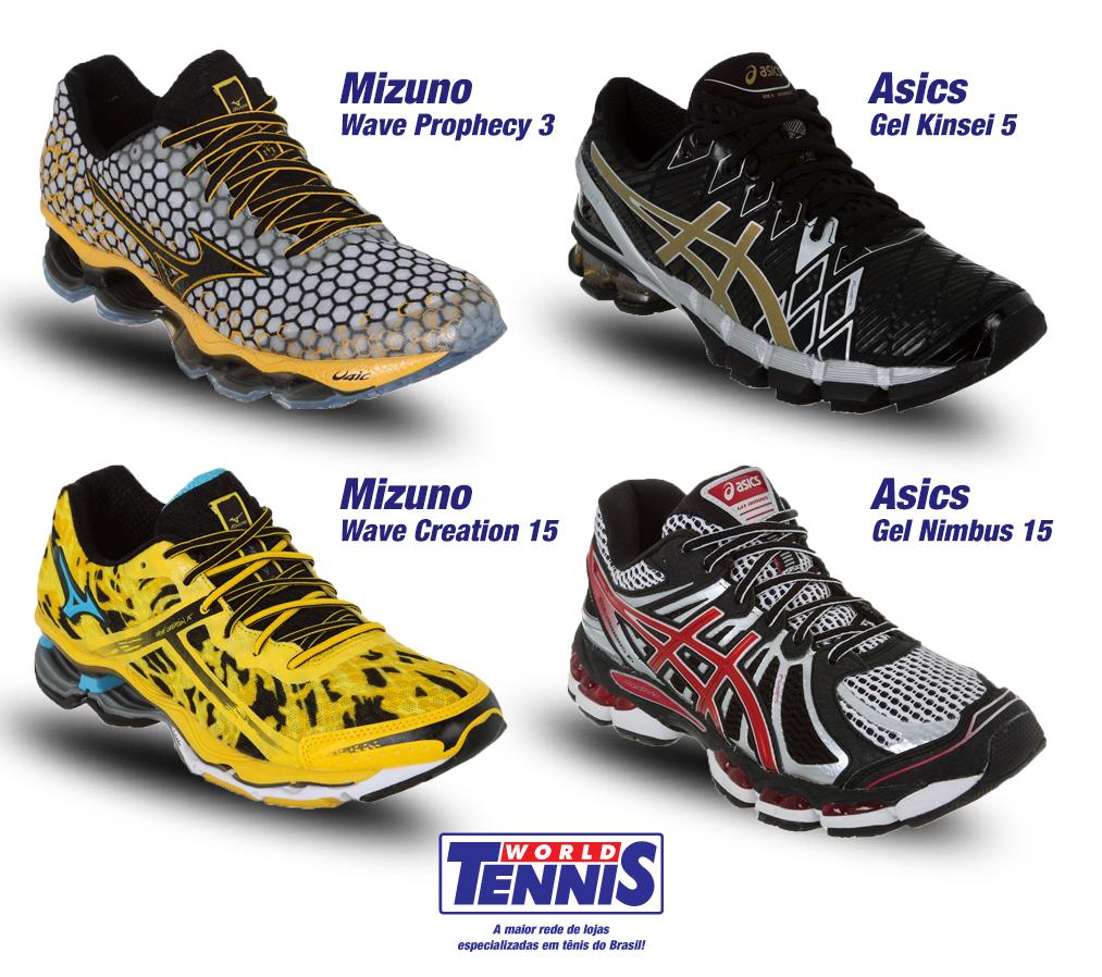 e56c7707962 Lançamentos para pisada Supinada - World Tennis - Tênis