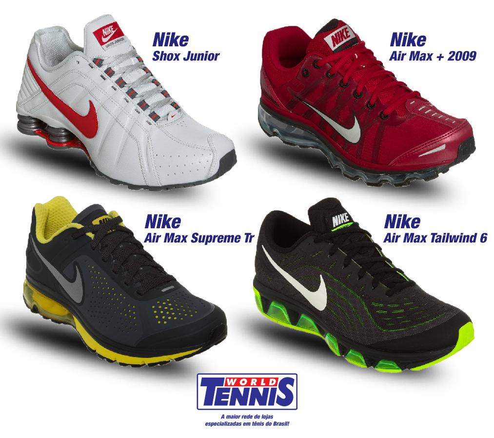 2736d29fd Promoção de tênis Nike - World Tennis - Tênis