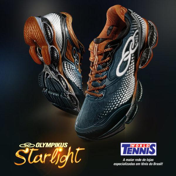 e4dad111d58 Novidade Tênis Olympikus – Starlight - World Tennis - Tênis