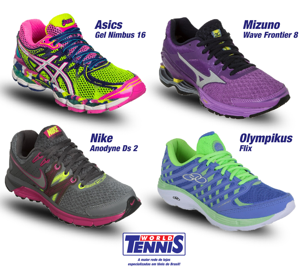 5a3883b4430 Arquivos Tênis para academia - Página 3 de 13 - World Tennis - Tênis