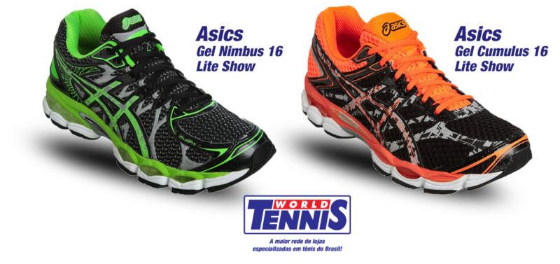 db8bf1e707 Tênis Asics Gel Lite Show - World Tennis - Tênis