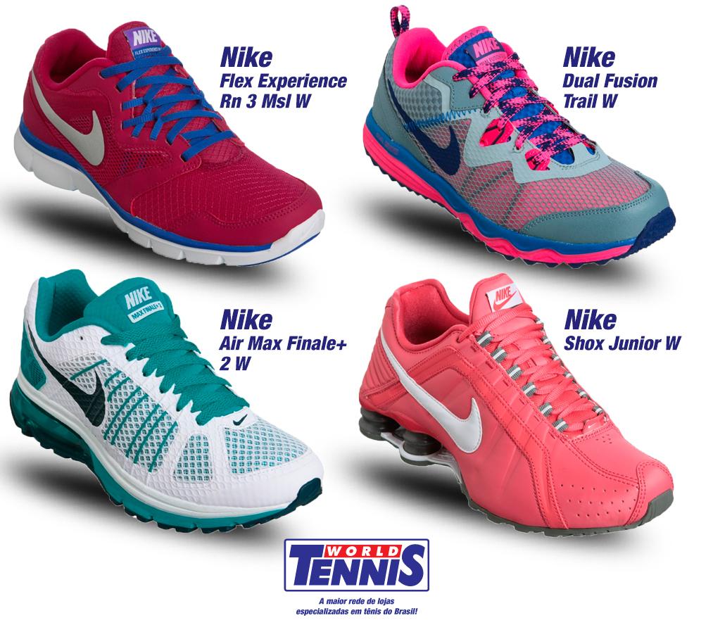 9d00ffb9d95 Tênis Nike feminino para academia - World Tennis - Tênis