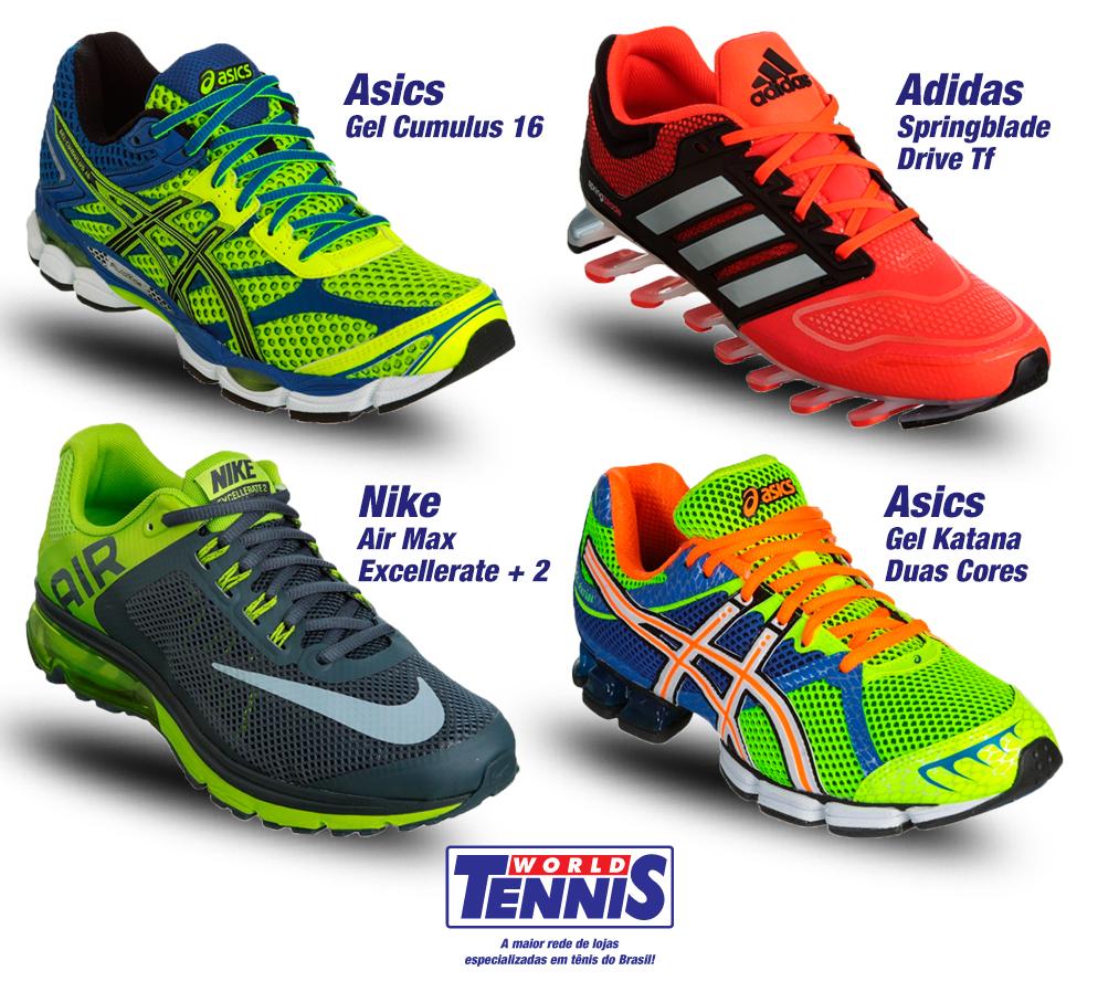5ce357776c3 Loja de tênis – Corrida em esteira - World Tennis - Tênis