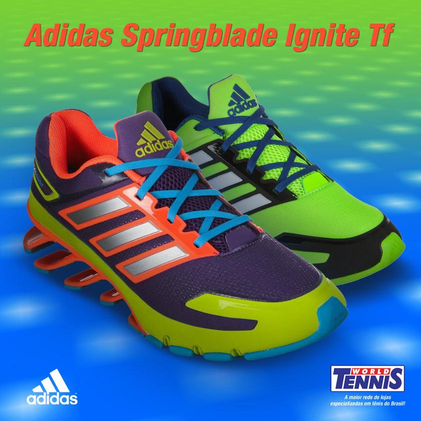 33e3b387038 Adidas Springlade novidade - World Tennis - Tênis