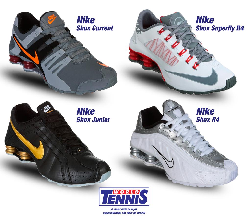 6a558e919b3 Nike Shox promoção - World Tennis - Tênis