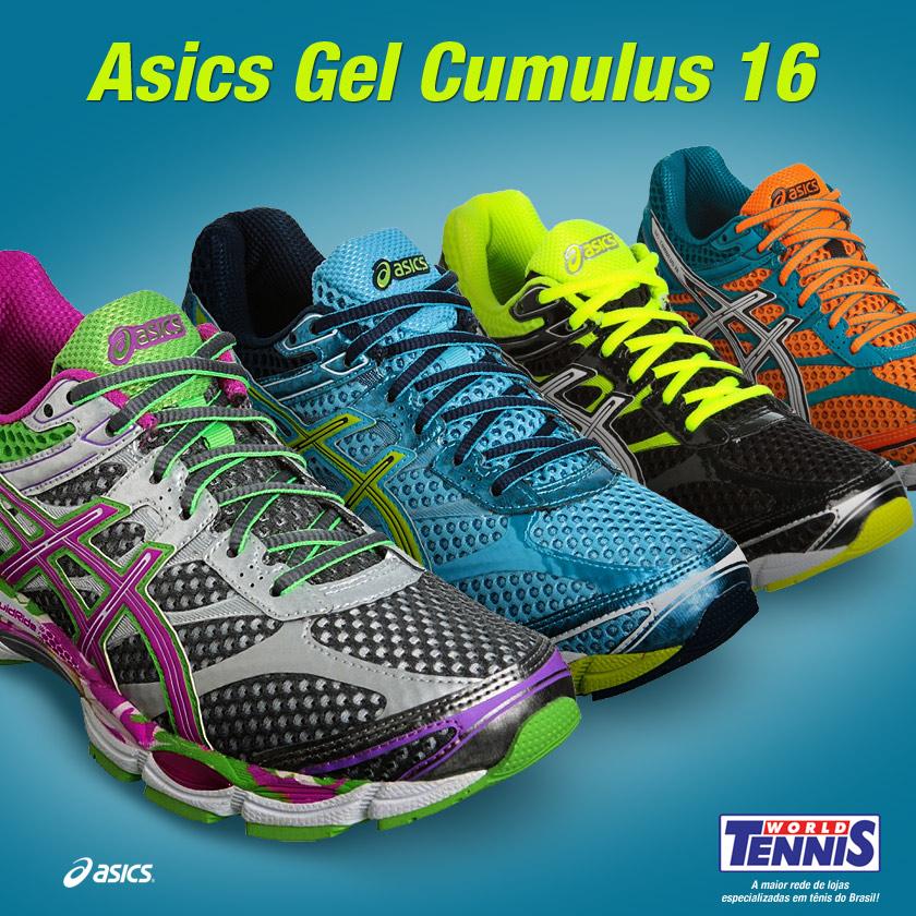 Tênis Asics Gel para musculação - World Tennis - Tênis 42968351fa18e