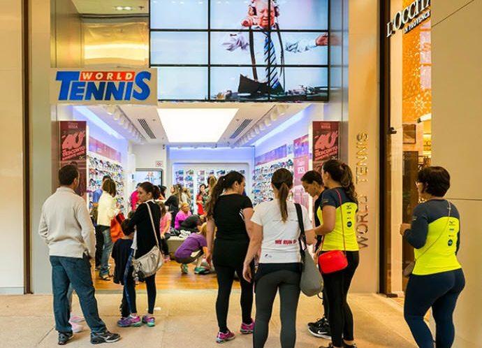 World Tennis Shopping Cidade Jardim São Paulo