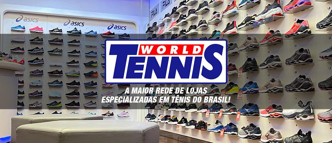 World Tennis - maior rede de lojas especializada em tênis do Brasil