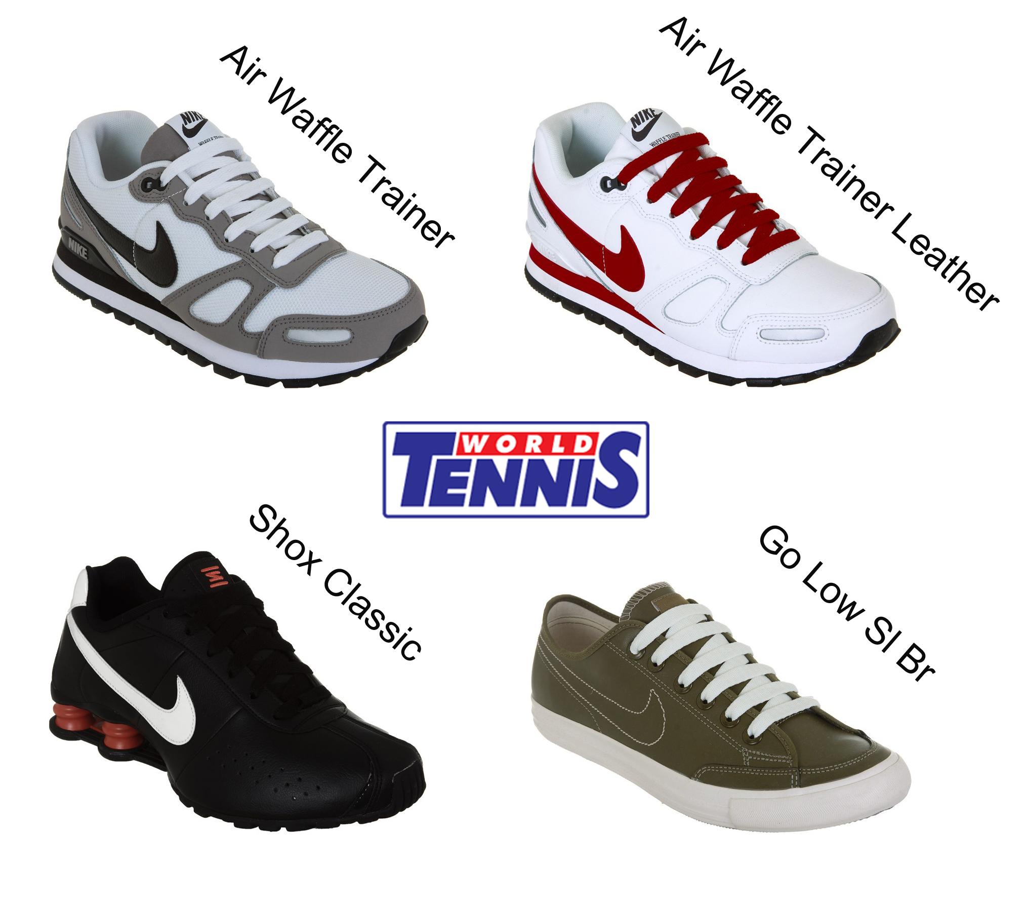 tenis nike promoçao world tennis