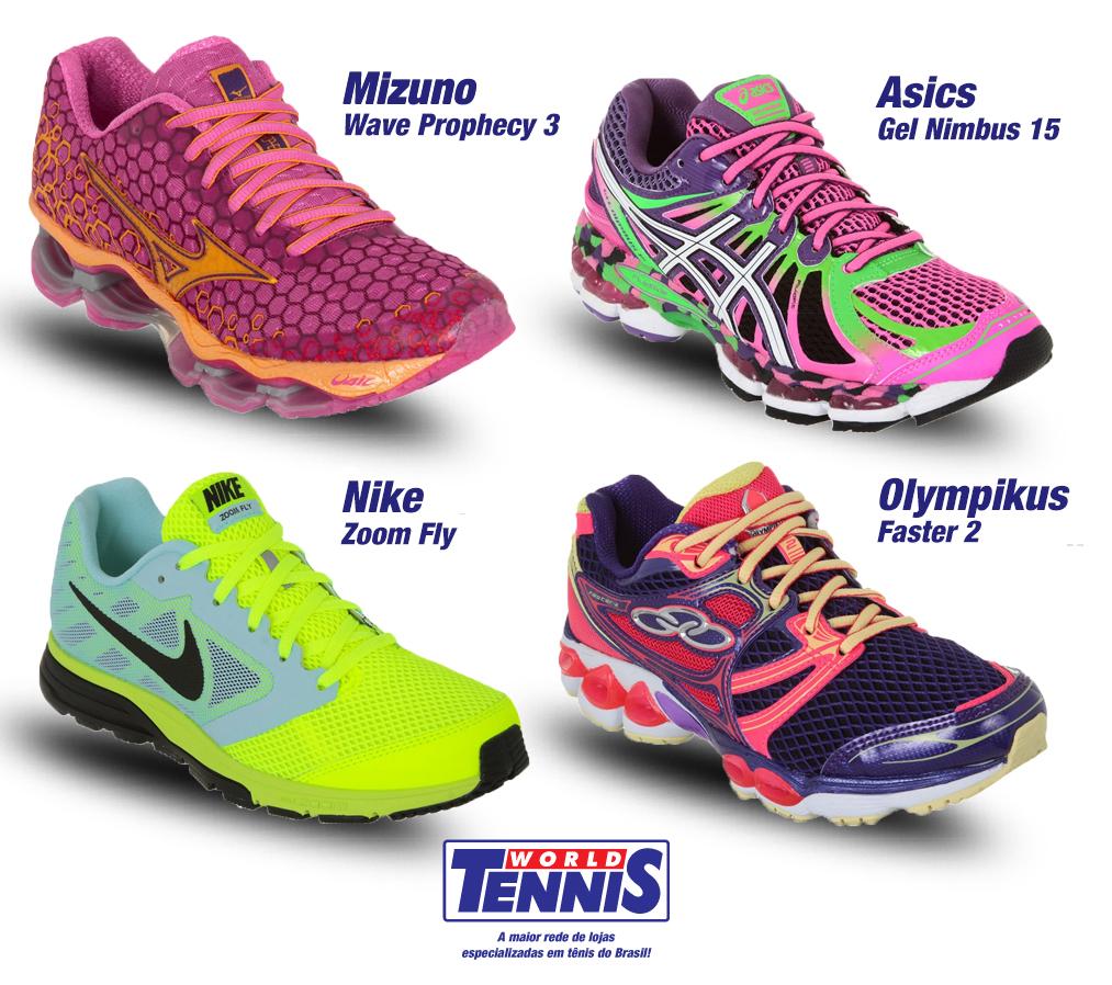 Tenis feminino corrida