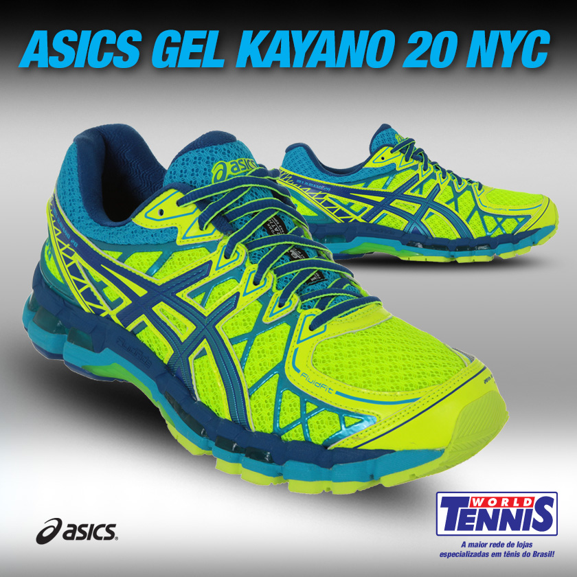 tênis asics gel kayano 20 nyc